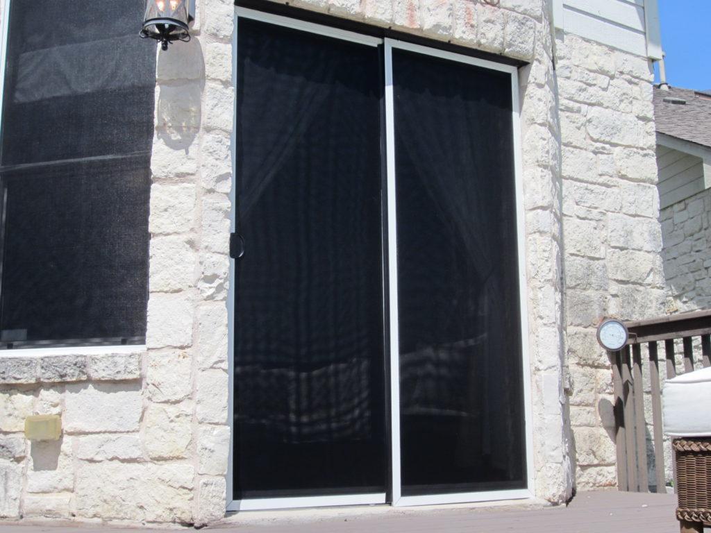 sliding door screen