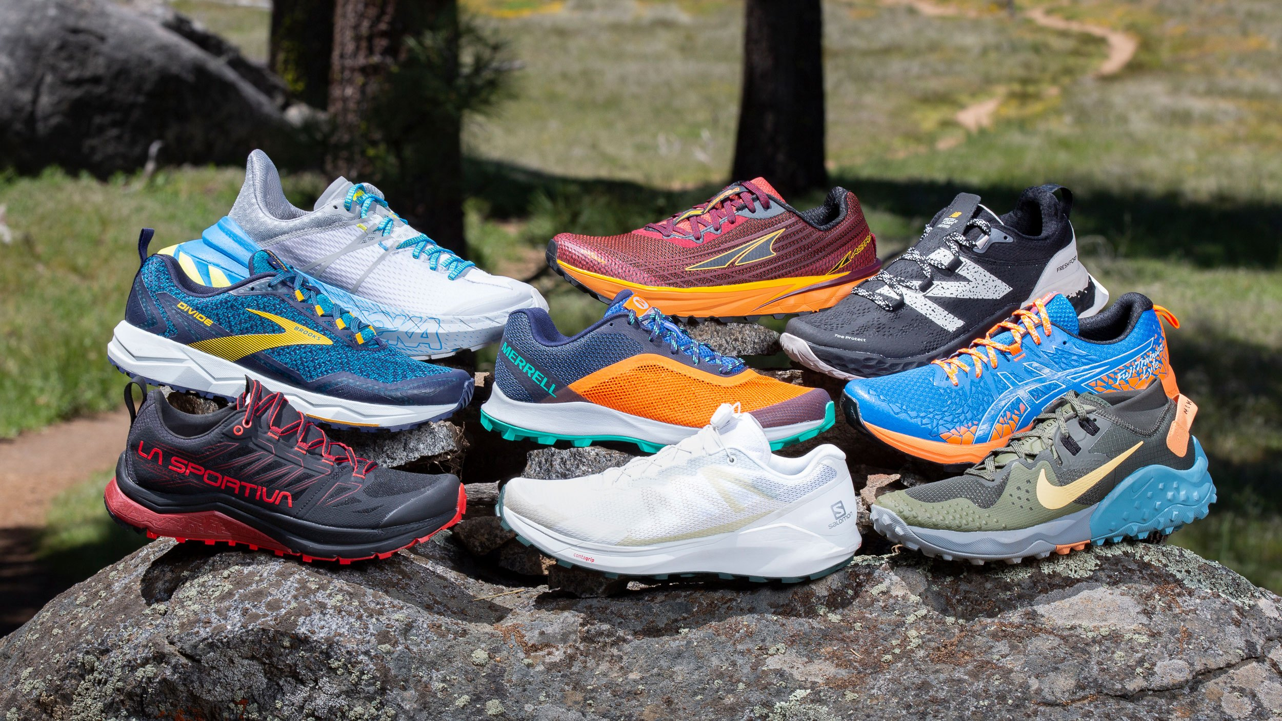 trail running shoes for men